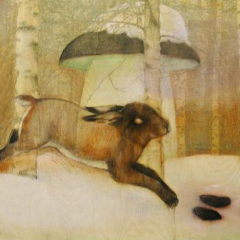 Teoksen nimi: Sää ja tila: Jänis ja karhu