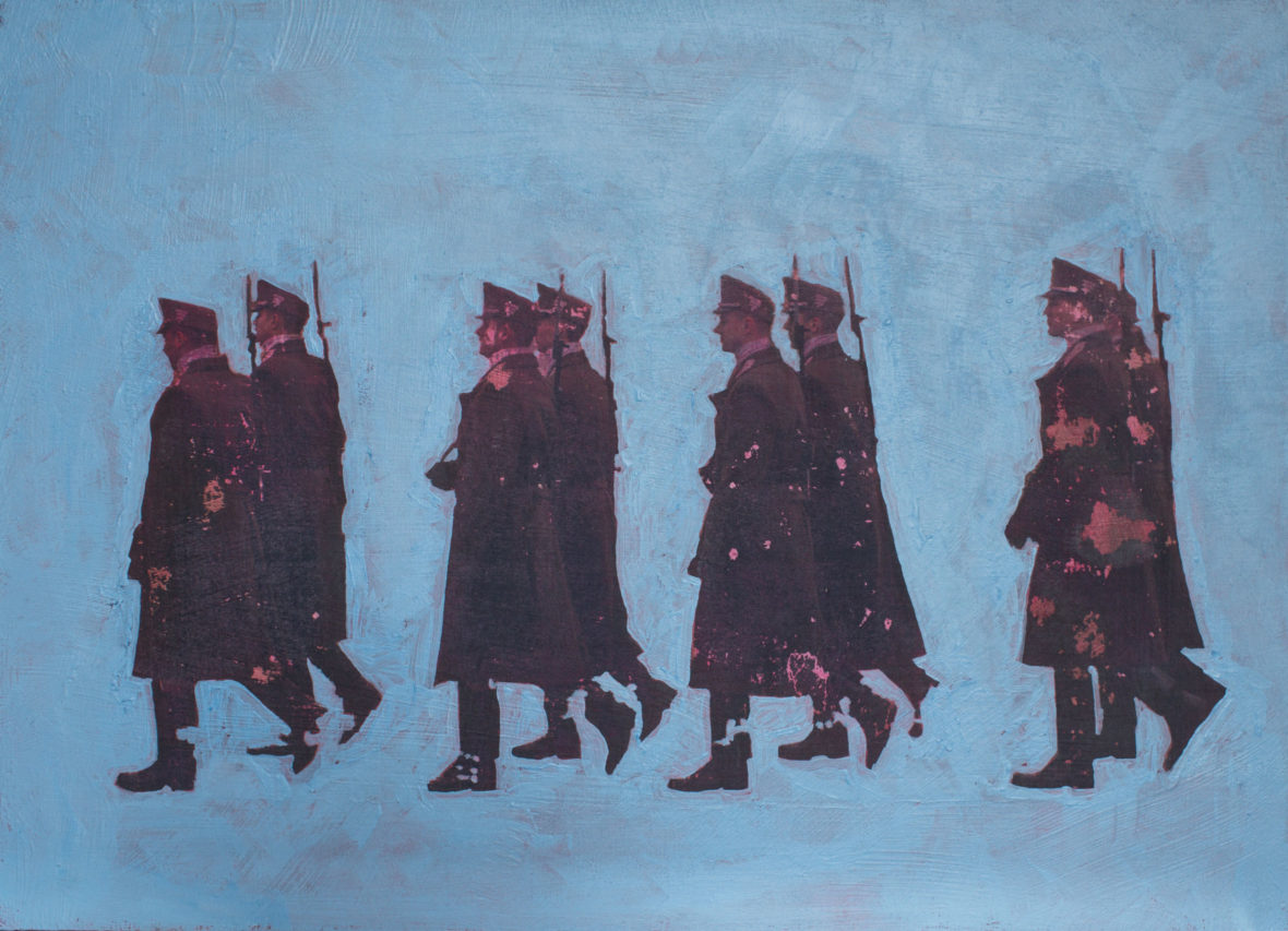 Marssivat sotilaat