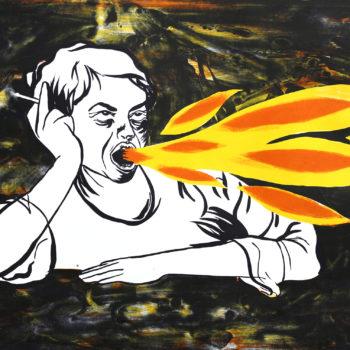 Teoksen nimi: Fire Fire