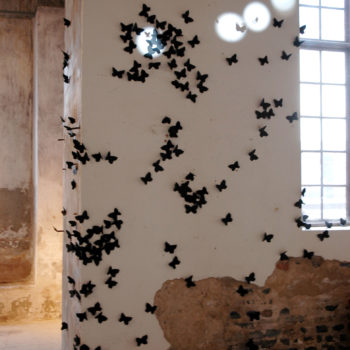 Teoksen nimi: Mustia perhosia