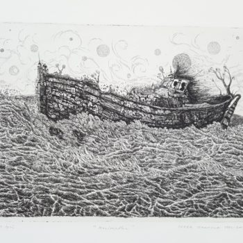 Teoksen nimi: Merimatka – The Voyage