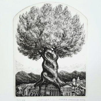 Teoksen nimi: Juuret – Roots