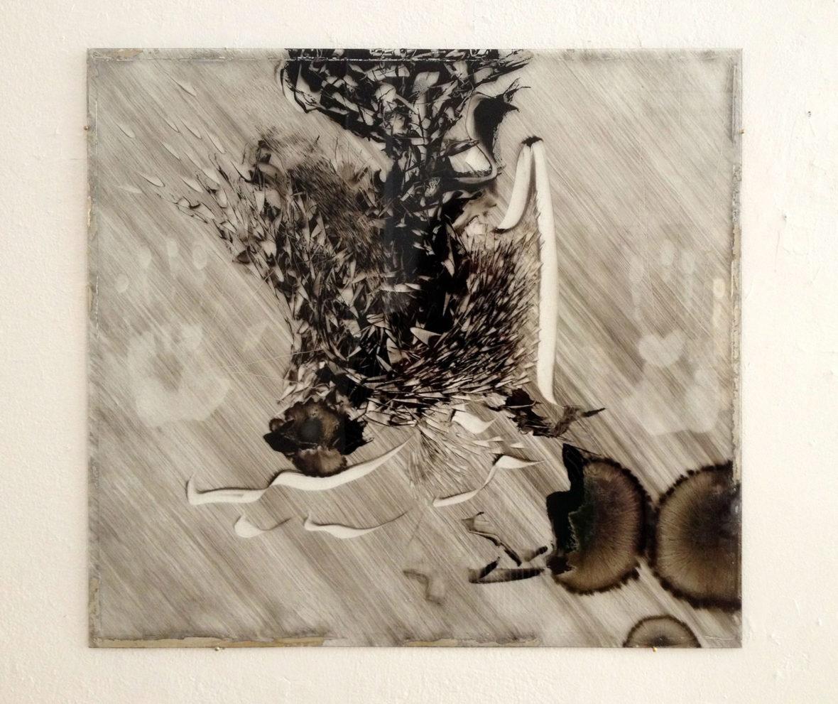 Contemplation painting (Radio Baghdad – Patti Smith 2004) IV