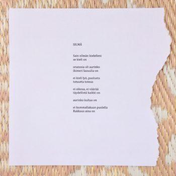 Teoksen nimi: runo 238