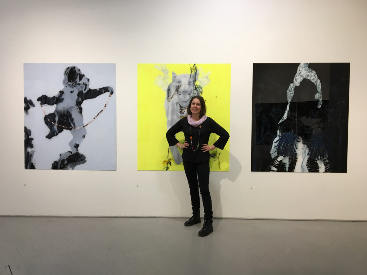 Vallanjako, tm-gallery Hesinki, 2017