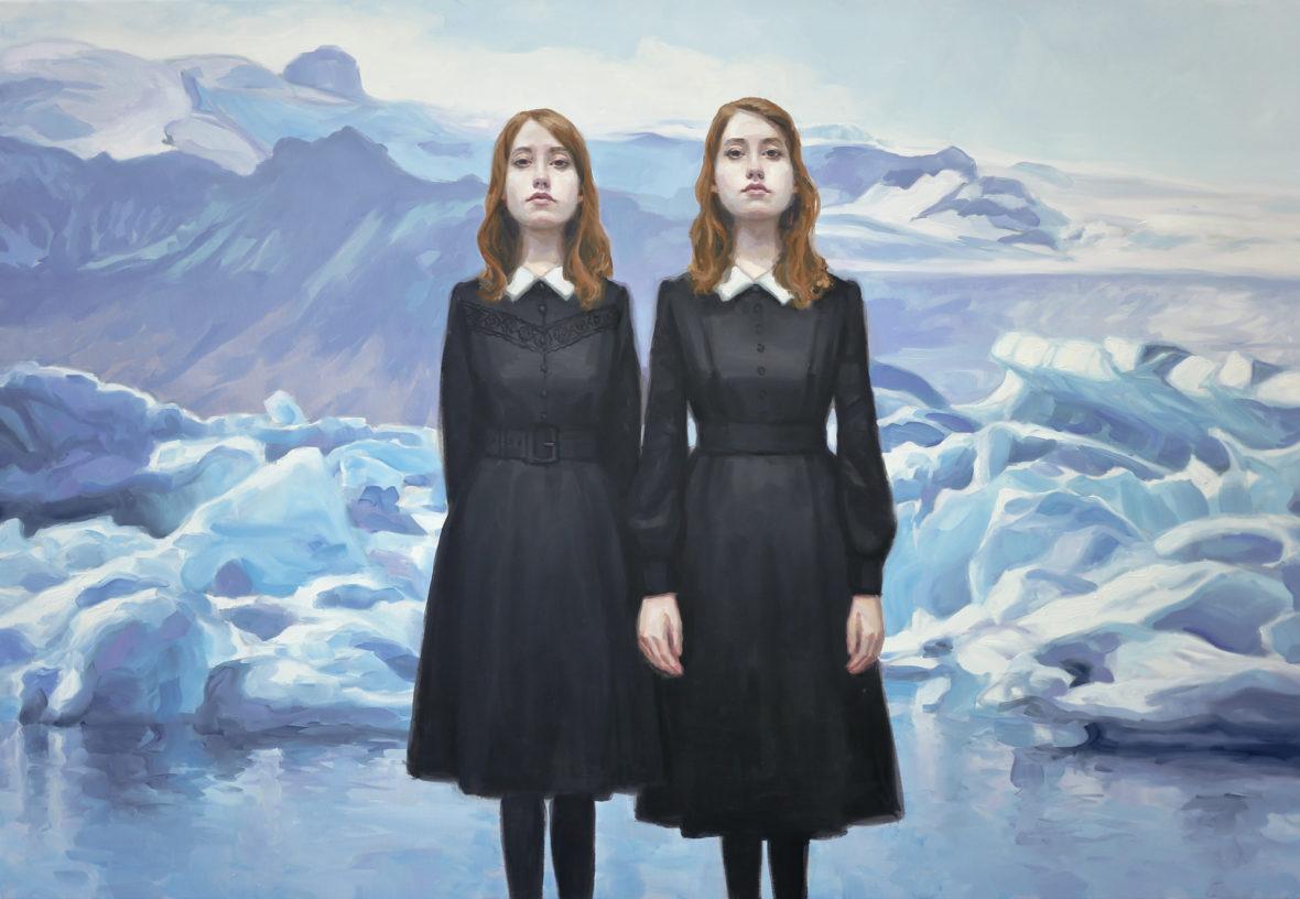 Kaksoset jäätikön reunalla II, 2018