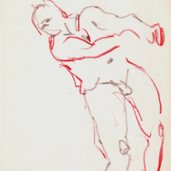 Name of the work: CROQUIS, 2010