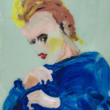 Teoksen nimi: Blue Pullover