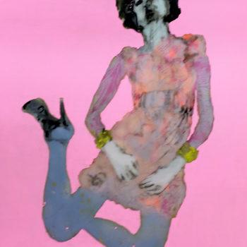 Teoksen nimi: Fashionista Restyled Pink