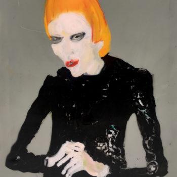 Teoksen nimi: Lady in Black