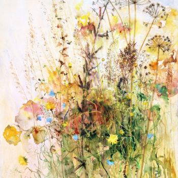 "Teoksen nimi: ""Wild Flowers"""