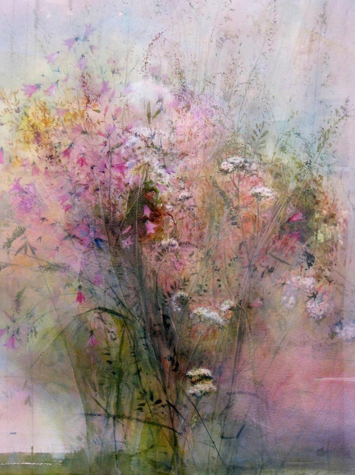 "From the series ""Wild Flowers"" watercolour. Sarjasta ""Villikukkia"" akvarelli"