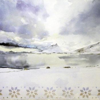 Teoksen nimi: Eyjafjörður