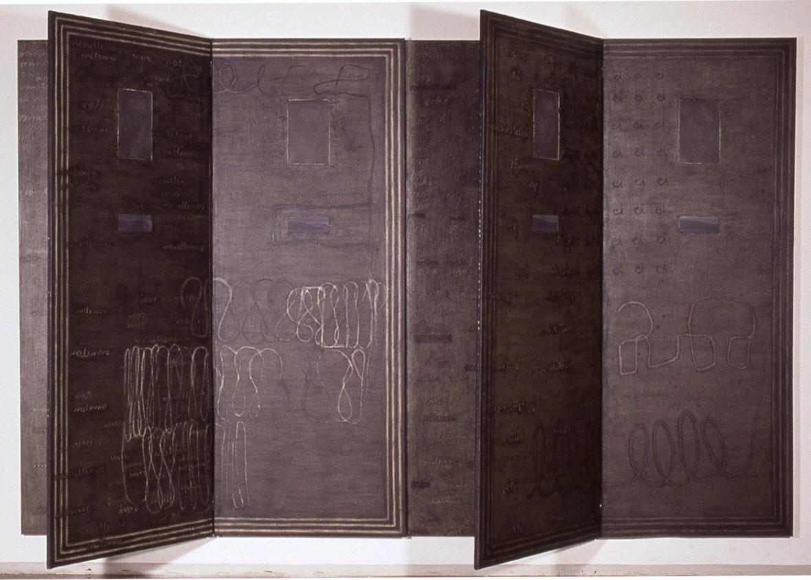 Käsikirjoitus: Kahdeksan osaa ihmisestä / Manuscript: Eight Parts of a Person, 1991