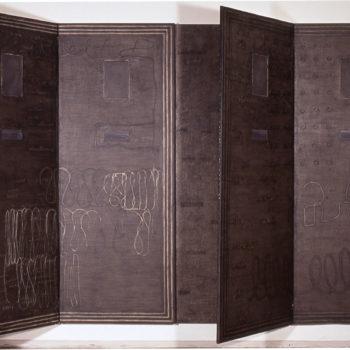 Teoksen nimi: Käsikirjoitus: Kahdeksan osaa ihmisestä / Manuscript: Eight Parts of a Person, 1991
