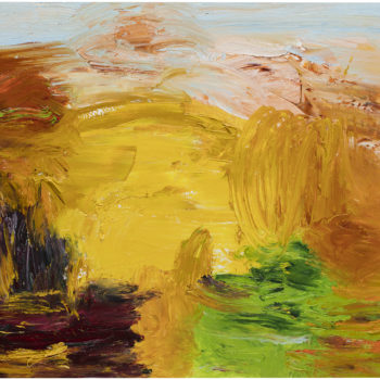 Teoksen nimi: Syysaurinko (Autumnpark)
