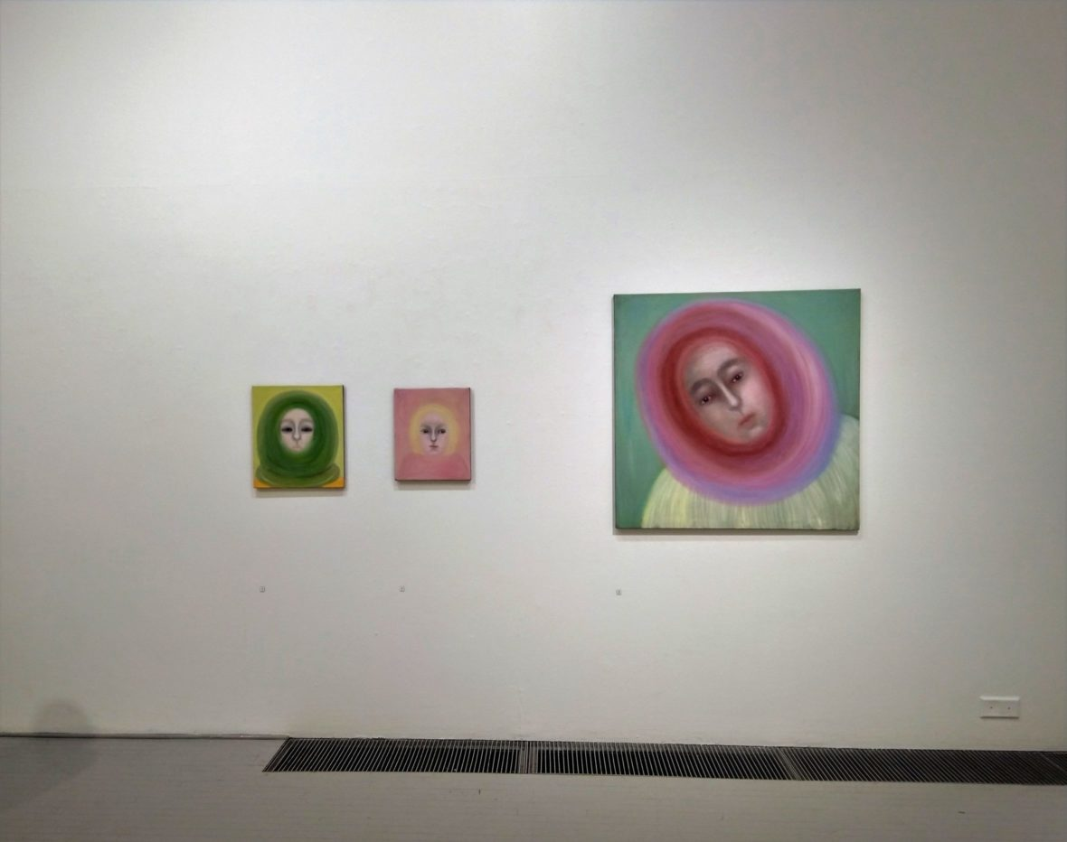 Tm-galleria karuselli 2019 näyttelykuva