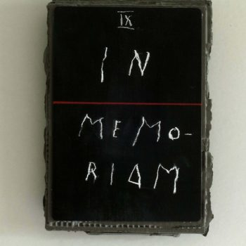 "Name of the work: ""In Memoriam"""