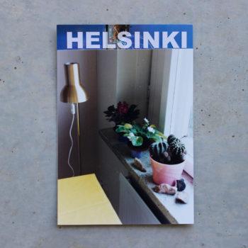 """Teoksen nimi: Oi  Helsinki – sarjasta  """"Ikkunalauta  Haagassa"""""""