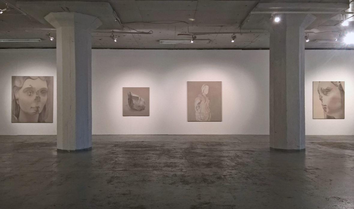 Yksityisnäyttely, Galleria Huuto Jätkäsaari, Helsinki 2017
