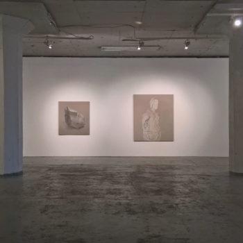 Teoksen nimi: Yksityisnäyttely, Galleria Huuto Jätkäsaari, Helsinki 2017