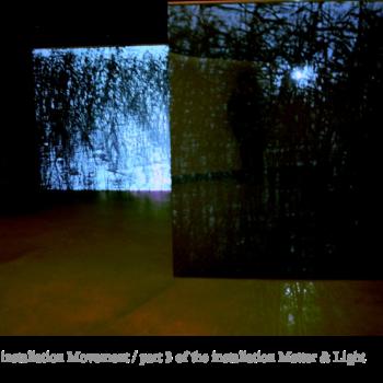 Teoksen nimi: Matter&Light 2008 / Part 3 of the  Videoinstallation/Amos Anderson Art Museum, Helsinki