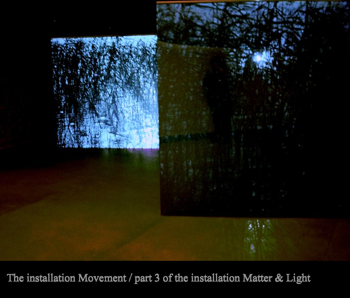 Matter&Light 2008 / Part 3 of the  Videoinstallation/Amos Anderson Art Museum, Helsinki