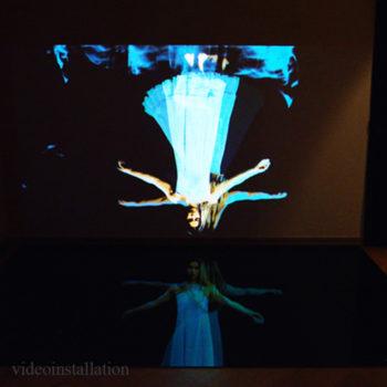 Teoksen nimi: The Dance 2015 / a videoinstallation / The Finland-institute Berlin The Tikanoja Art Museum Vasa Finland The Galleria Lapinlahti Helsinki Finland