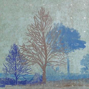 Teoksen nimi: Talvipuutarha VII / Wintergarden VII