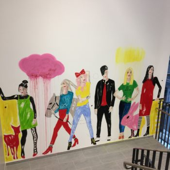 Name of the work: Shiny Happy People