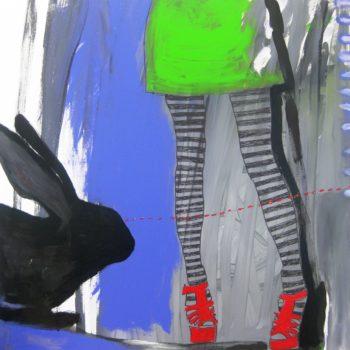 Name of the work: Rabbit Eye Movement