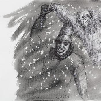 Teoksen nimi: Kuva Piirtäjän Päiväkirjasta