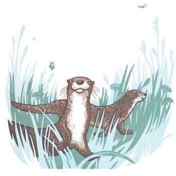Teoksen nimi: Otters