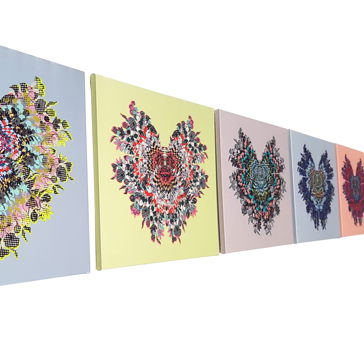 Butterfly, Small 3,4,5,6 & 7