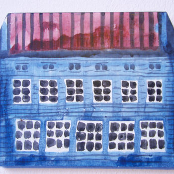 Teoksen nimi: Sininen talo