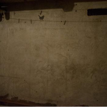 Teoksen nimi: Kuivaushuone, Drying Room