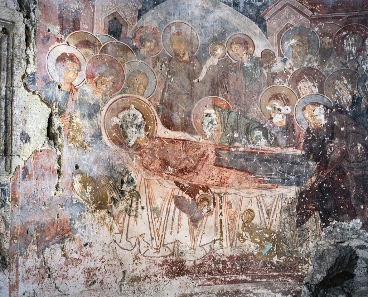 Jumalanäidin kuolonuneen nukkuminen, Kaymakli armenialainen luostari, Trabzon