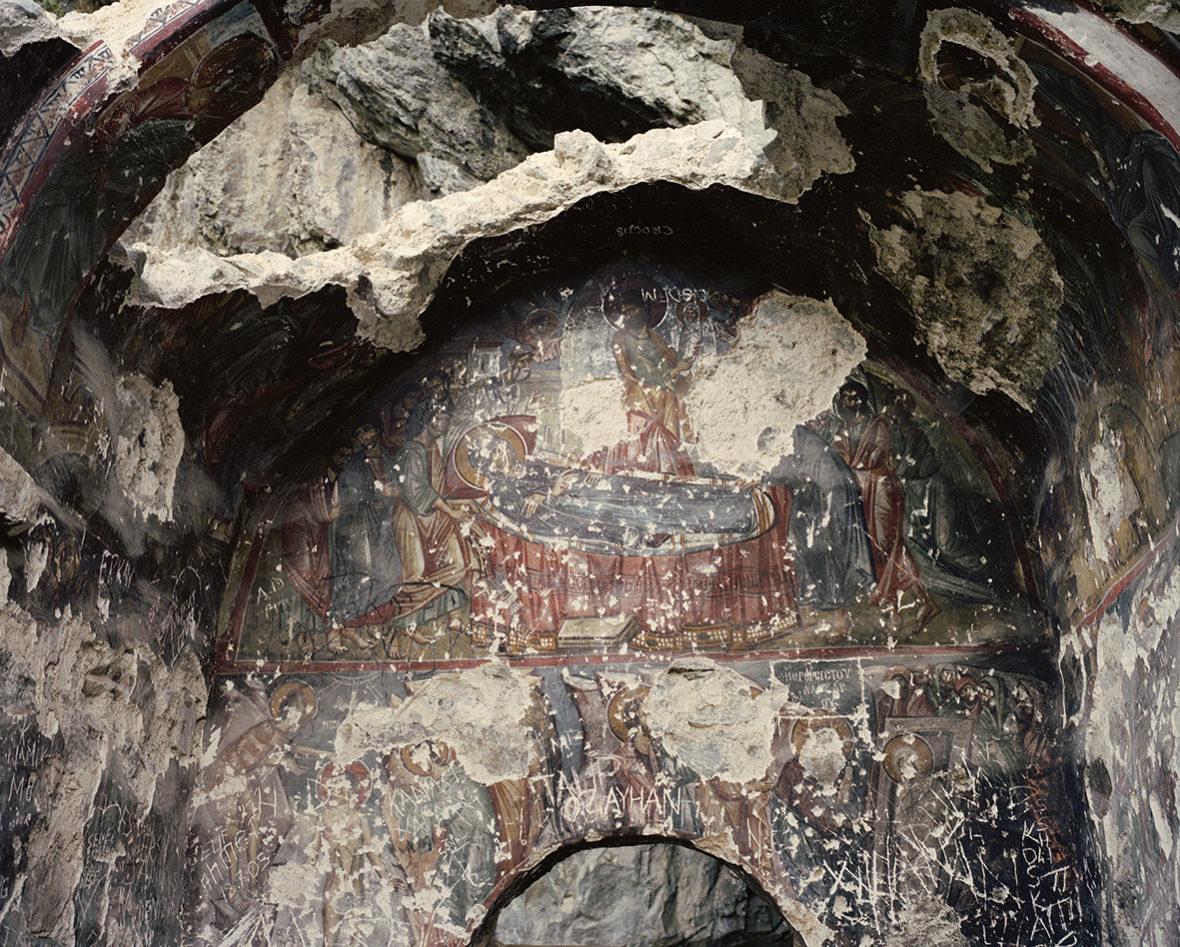 Jumalanäidin kuolonuneen nukkuminen, Vazelonin luostari, Macka