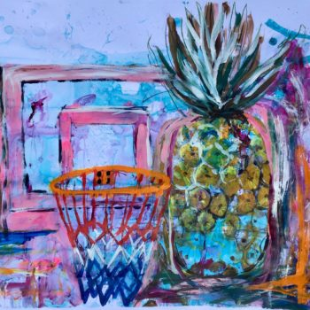 Name of the work: Landscape Ananas 2020