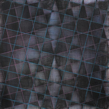 Teoksen nimi: Black Squares on Paper