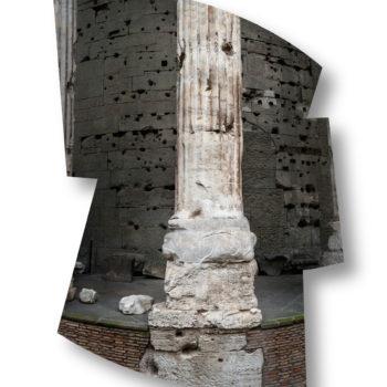 Teoksen nimi: Il Tempio di Adriano, Roma