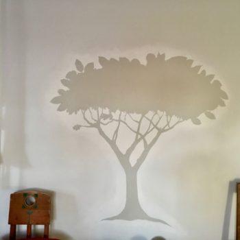 Teoksen nimi: Gardener 1 wall painting