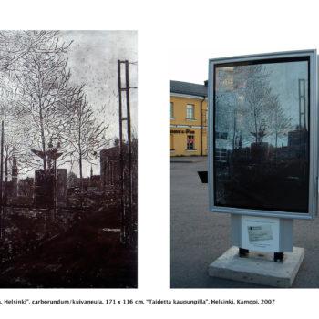 Teoksen nimi: Heijastuksia / Reflections, Helsinki
