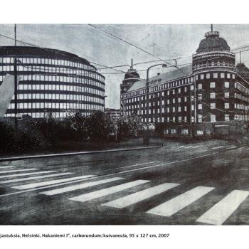 Teoksen nimi: Heijastuksia / Reflections, Helsinki, Hakaniemi I