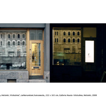 Teoksen nimi: Heijastuksia / Reflections, Helsinki, Viiskulma