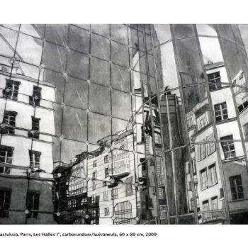 Teoksen nimi: Heijastuksia / Reflections, Paris, Les Halles I