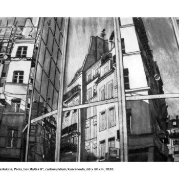 Teoksen nimi: Heijastuksia / Reflections, Paris, Les Halles II