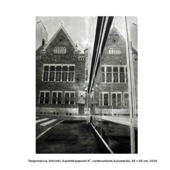 Teoksen nimi: Heijastuksia / Reflections, Helsinki, Kaartinkaupunki II