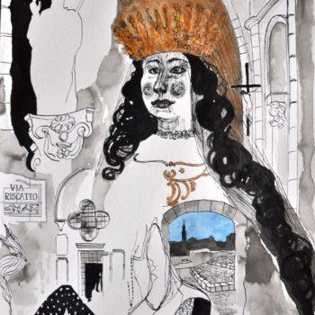 Teoksen nimi: Madonna della Bruna