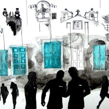 Teoksen nimi: Matera's doors